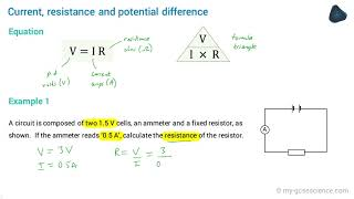 OCR 9-1 Physics: Potential difference, current and resistance