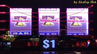 "Akafuji Slot★March 26 Part 4 ""Final""★Super Big Win Again and Again★Dollar Slot 5 Lines Bet $5 Barona"