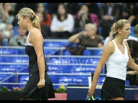 Victoria Azarenka VS Maria Sharapova Highlight Moscow 2007 R2
