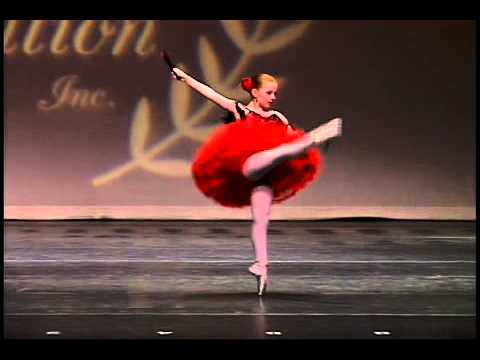 Amanda Hall, 9 years old, Ballet Don Quixote, Pembroke Ballet