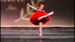 vuclip Amanda Hall, 9 years old, Ballet Don Quixote, Pembroke Ballet