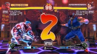 USFIV~ Hakan (Ninja STErcan) vs.  T.Hawk (IND Incognitus) HD