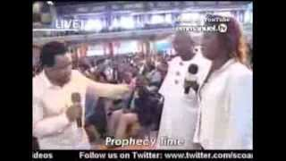 Who Is Prophet TB Joshua? Woman Collapsed By The Truthfulness Of The Prophecy, Emmanuel TV, SCOAN