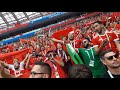 The Moroccan national anthem shakes the stadium World Cup Russia 2018