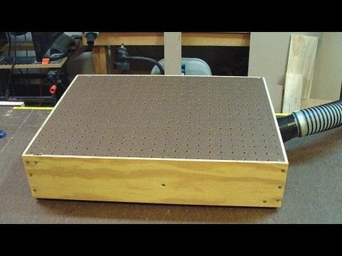 How To Make A Bench Top Sander Table Woodlogger Com
