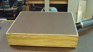 How To Make A Bench Top Sander Table (woodlogger.com)