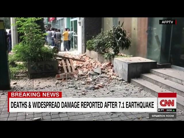 Earthquake kills dozens in central Mexico