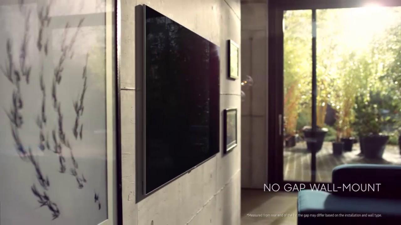 e81bbf3942e QLED TV  No Gap Wallmount. Samsung Nederland