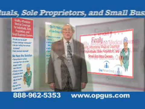 One Person Group Health Insurance Commercial - YouTube