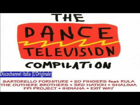 The Dance Television Compilation - Various 1995 (Facciate:1)