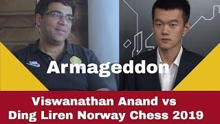 Armageddon | Viswanathan Anand vs Ding Liren: Norway Chess 2019