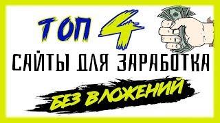 Zarabotok в internet с вложениями и без! Как можно заработать деньги в интернет