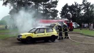 Staromestsky den 2013 - ukazka zasahu hasicu