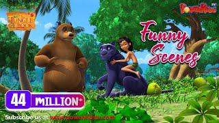 El libro de la selva hindi dibujos animados para los niños kahaniya divertida compilación