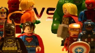 LEGO - The Avengers VS The Justice League (Part 3)