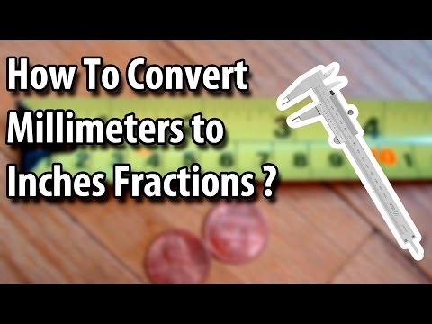 How To Convert Millimeters To Inches Fractions