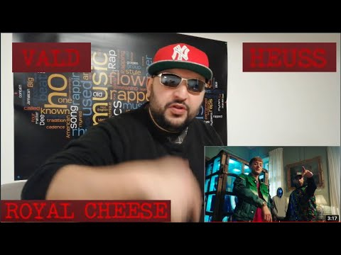 Vald  Heuss L'enfoiré  Royal cheese Clip Officiel REACTION