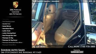 Used 2006 Porsche Cayenne | Sunrise Auto Sales, Rosedale, NY