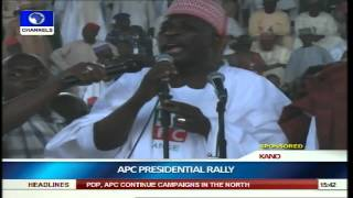 APC Moves Presidential Campaign Train To Kano pt.4