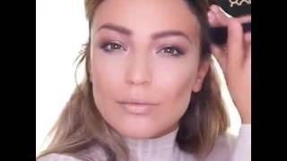 Видеоурок, как сделать #макияж как у Дженифер Лопес!