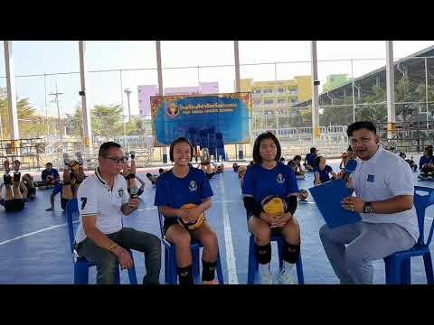 บรรยากาศการฝึกซ้อมกีฬาวอลเลย์บอลของโรงเรียนกีฬาจังหวัดอ่างทอง (Ep6)