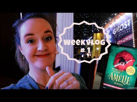 ★ WEEKVLOG #1 - Last week Hamburg + A New Project! ★