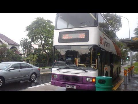 (Fast Forward) SBS Transit Service 10e Anson Rd - Bedok Rd (SBS9666X Volvo Olympian 3 Axle)