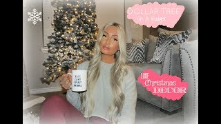 | LUXE CHRISTMAS DECOR | DOLLAR TREE  | LUXE ON A BUDGET | BRITTANI SOFIA