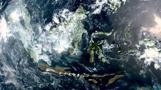 Earth From Space - Sep 3, 2015: Indonesia, Malaysia & Singapore