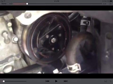 Ремонт неисправности кондиционера (замена сцепления) - Nissan Altima