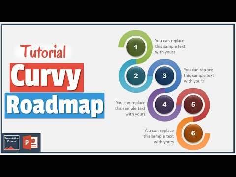 Subway Map In Powerpoint.How To Create Curvy Powerpoint Road Map Diagram Tutorial Series