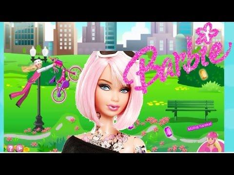 Barbie Oyunu Oynadık Barbie Bebek Oyunları Youtube