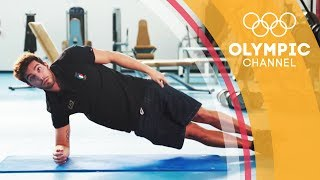 Abs Workout ft. Gabriele Detti | Workout Wednesday