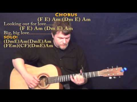 Big Love (Fleetwood Mac) Fingerstyle Guitar Cover Lesson with Chords/Lyrics