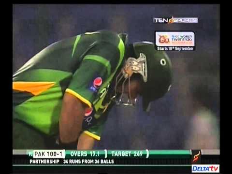 Nasir Jamshed 97 [98 balls] vs Australia at Abu Dhabi
