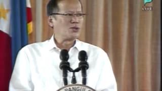 POEA 2013 Performance Awards:President Benigno Aquino III Speech