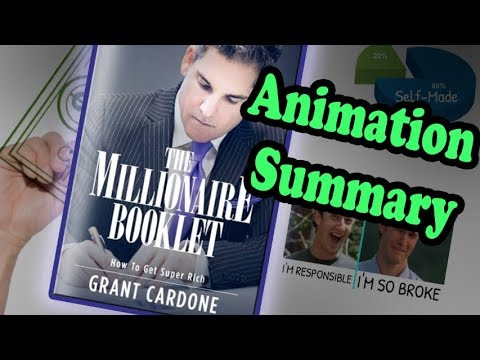 """Millionaire Booklet: How to Get Super Rich"" by Grant Cardone 