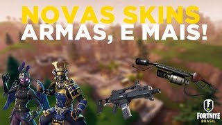 Fortnite-12 NEW SKINS, 2 NEW WEAPONS, NEW STARTER PACK and MORE!