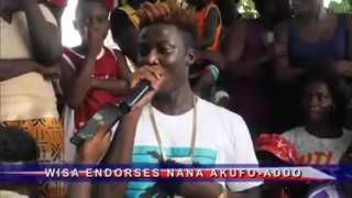 Endorsement from hiplife artiste - Wisa