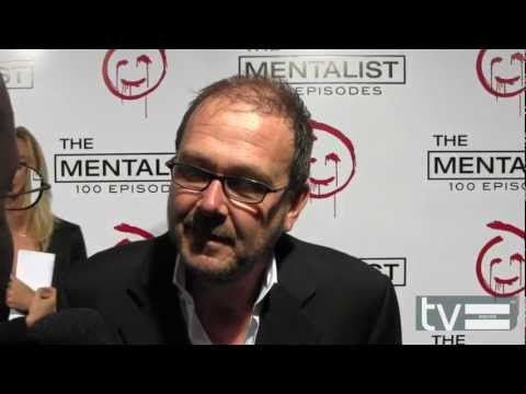 Chris Long at The Mentalist Season 5 100th Episode Party