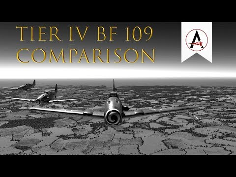 Ultimate Tier IV Bf109 Performance Comparison (Speed, Climb, Turn, etc) (5000 Sub Special)