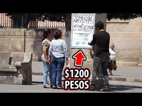 PUSE $1200 EN LA CALLE Y PASÓ ESTO