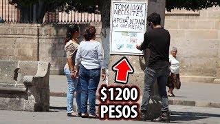 Download Video PUSE $1200 EN LA CALLE Y PASÓ ESTO MP3 3GP MP4