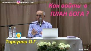 Как войти в ПЛАН БОГА?  Торсунов О.Г.