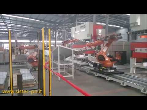 AUTOMATIC BENDING CELL ; CELLA ROBOTIZZATA DI PIEGATURA