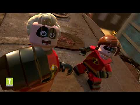 LEGO The Incredibles Crime Waves Trailer