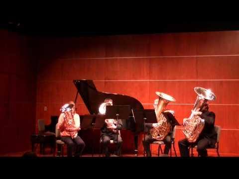 GVSU - Octubafest 2013 - Three Bruckner Motets and Earle of Oxford Marche