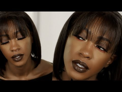 First Fall Look | Glossy Chocolate Brown Makeup Tutorial thumbnail