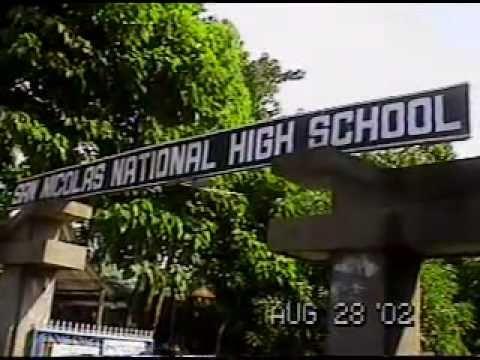 Linggo ng Wika - San Nicolas National High School (SNNHS) yr 2002