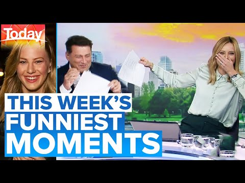 Funniest Moments Of The Week 😂 | Today Show Australia